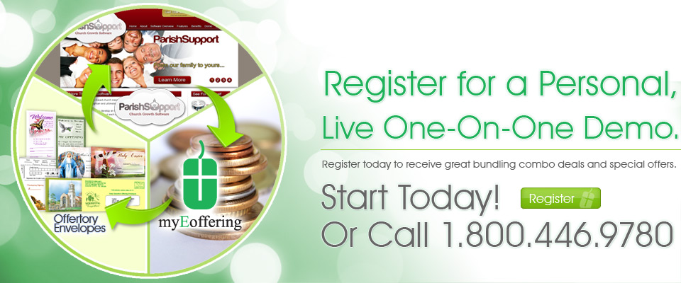 Register today for a personal, live one-on-one demo with myEoffering!
